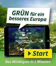 Grün für ein besseres Europa