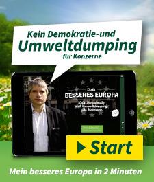 Kein Demokratie- und Umweltdumping für Konzerne